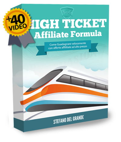 High ticket affiliate formula